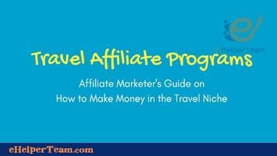 affiliate travel program