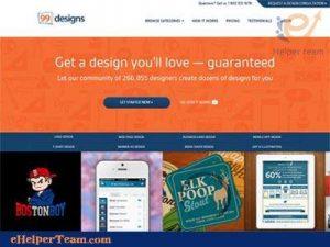 99designs site