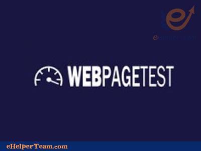 Tool-Webpagetest