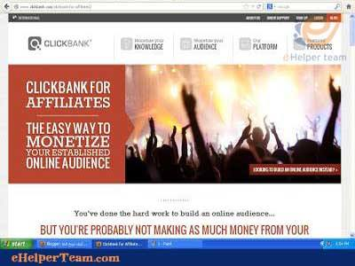 clickbank for affiliate
