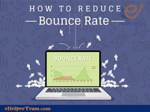 How to reduce the bounce rate