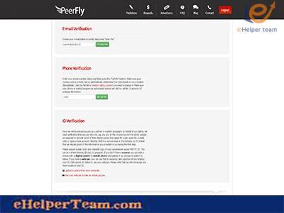 Verify page