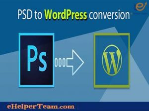 PSD to WordPress conversion service provider