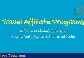 Travel affiliate