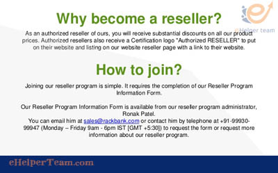 why become reseller