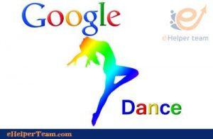 content on Google dance