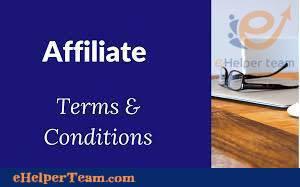 affiliate terms