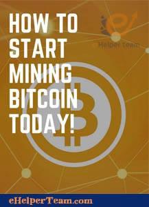 start mining bitcoin