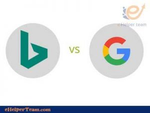 Image search in Bing vs in google