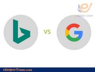 Images search in Bing vs in google