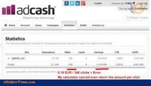 Adcash Company asGoogle Adsense Alternative