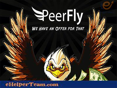 Photo of PeerFly.com, a popular CPA Affiliate Marketing Network
