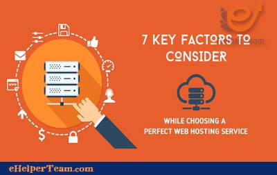 Photo of Seven basic factors to consider in choosing a web hosting provider