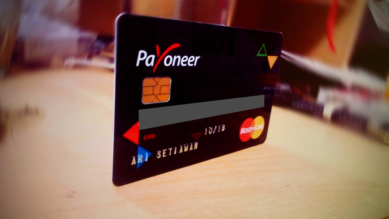 bank account from Payoneer