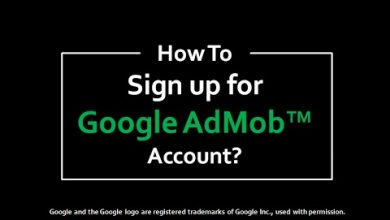 AdMob account sign up