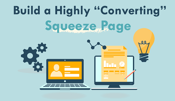 Create a Squeeze Page