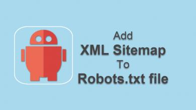 Robots txt sitemap