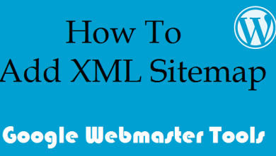 Photo of Add wordpress sitemap to google webmaster