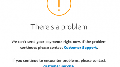 PayPal problems