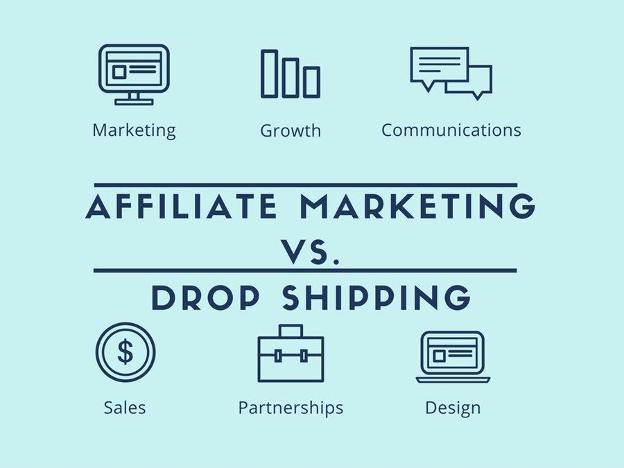 Affiliate marketing vs dropshipping - Welke is beter en welke moet jij kiezen