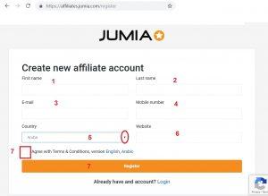 Jumia affiliate
