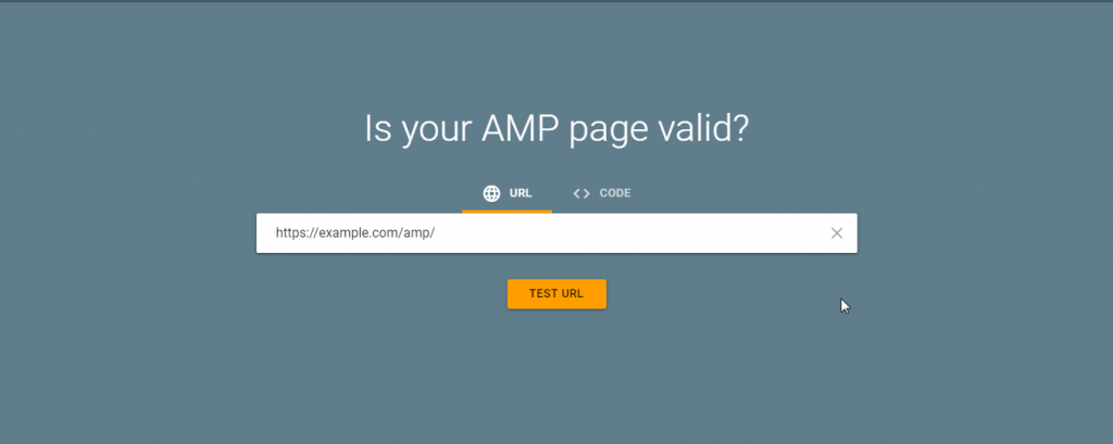 AMP Test From Google