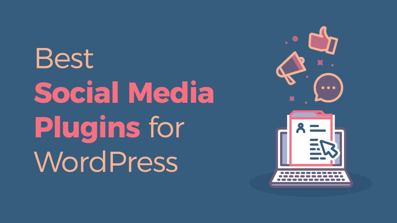 best WordPress plugins for social media