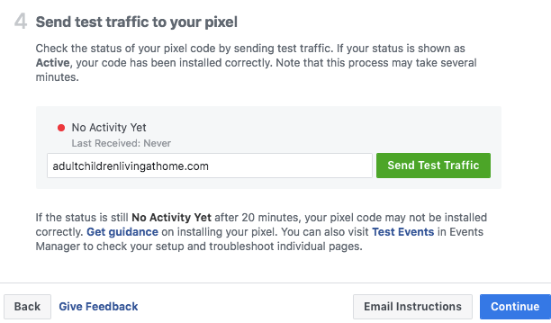 Facebook pixel monitors your operation