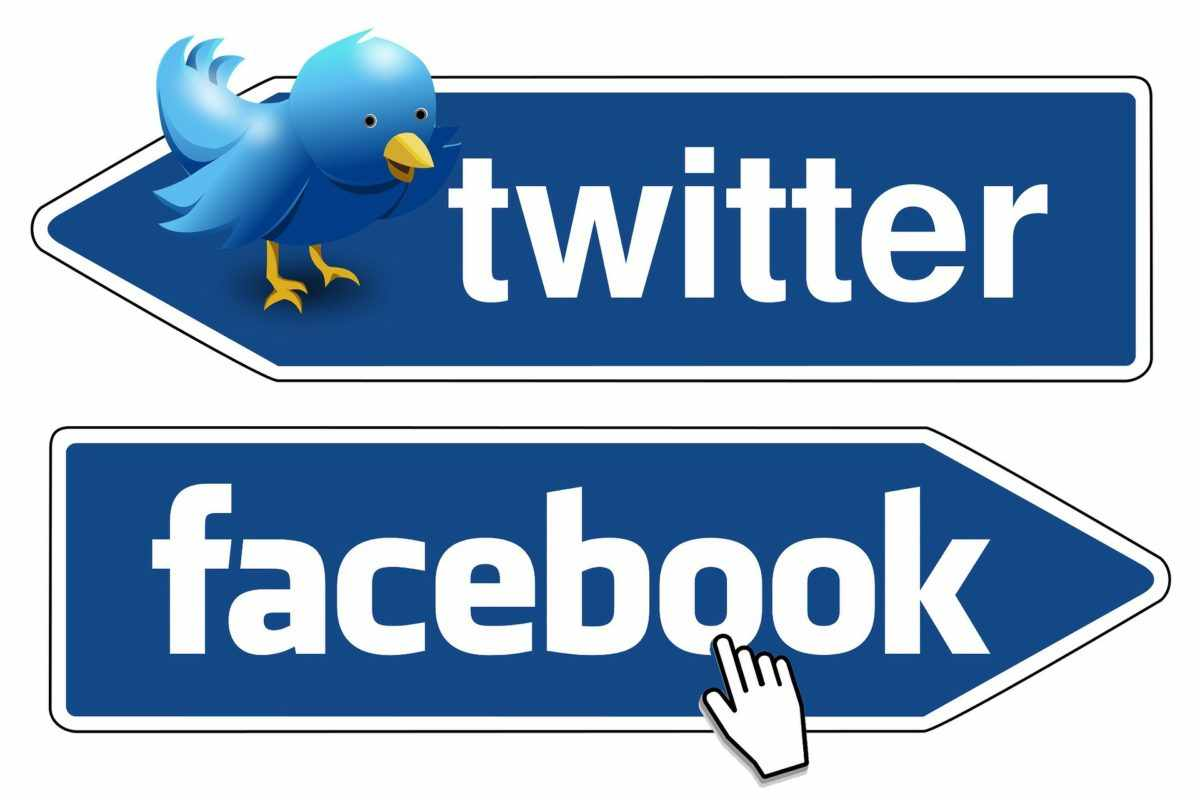 Ads of Twitter and Facebook